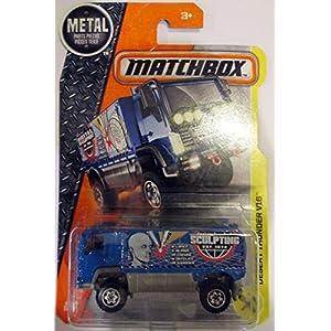 Matchbox 2017 34/125 Blue Desert Thunder V16 Truck