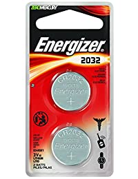 Energizer Watch/Electronics Battery 2032, 2-Count