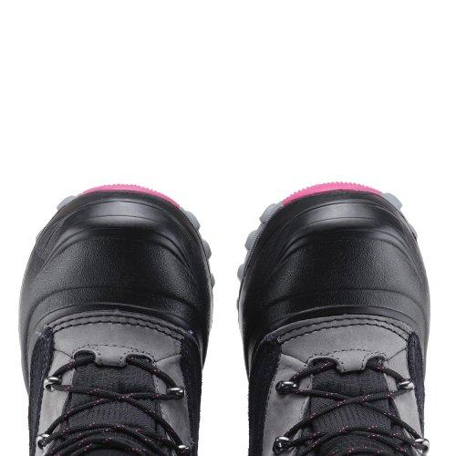 Meindl Winterschuhe Winterstiefel Boots CANADIAN WINTER JUNIOR anthrazit-pink, Größe:36