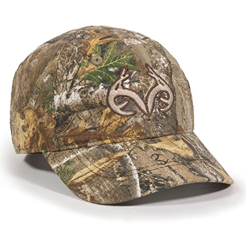 Great Deal! Realtree Toddler Edge Camo Buck Horn Kids Hunting Hat/Cap