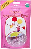 YumEarth Organics Variety Of Vitamin Pops, Drops and Snacks – The #1 Organic Candy in America (Strawberry Smash – 14 Lollipops) For Sale