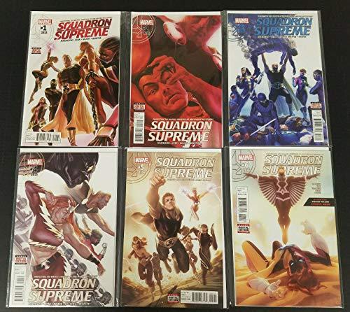 Squadron Supreme #1-6 Near Mint Complete Set Full Run Marvel Comics 2015 CBX20