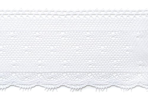 SIC 7226 01 Luxury Pull Frill Torchon Lace by ICS