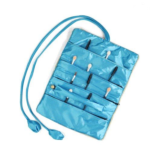Topro Oriental Silk Jewelry Wrap Roll Organizer Travel