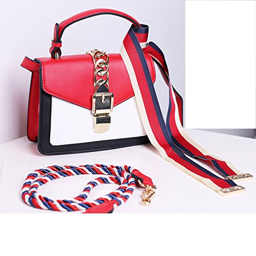 LF fashion bag Bolso Femenino Nuevo Damas Moda Hombro Messenger Bag Versión Coreana del Pequeño Bolso Cuadrado Hada Portátil Portátil Salvaje