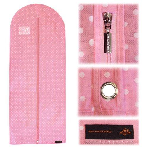 Hangerworld Pinks Polka Breathable Garment