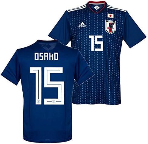 adidas サッカー日本代表 2018 ホーム レプリカ ユニフォーム 半袖 No.15 大迫 CV5638/15O  Large