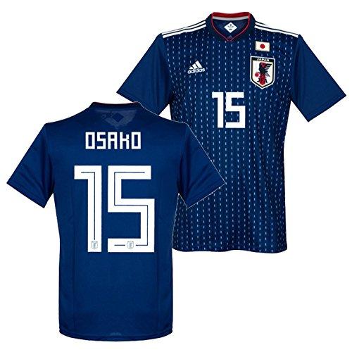 adidasサッカー日本代表2018ホームレプリカユニフォーム半袖No.15大迫CV5638/15O(M)