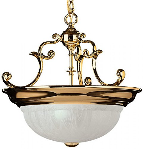 Dolan Designs 527-14 Richland 3 Light Pendant, Polished Brass