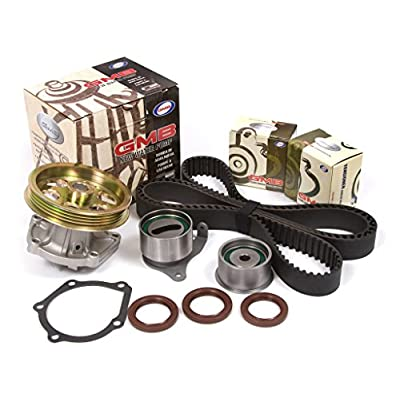 Evergreen TBK208WP2 Fits 95-98 Toyota Paseo Tercel 1.5 DOHC 5EFE Timing Belt Kit GMB Water Pump: Automotive