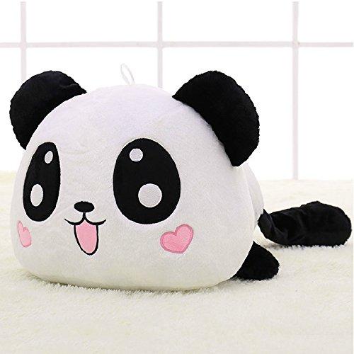 [COFFLED China Panda Stuffed Plush Dolls Soft Stuffed Toys for Baby Infant,10 Inch Sofa Cushion Pillow Best Birthday Xmas Wedding] (China National Costume Name)