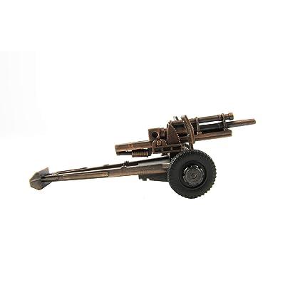 Treasure Gurus 1:48 Scale O Gauge Train Accessory Miniature Army M101 Howitzer Pencil Sharpener: Toys & Games