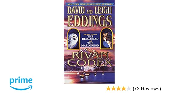 The rivan codex ancient texts of the belgariad and the malloreon the rivan codex ancient texts of the belgariad and the malloreon the belgariad the malloreon david eddings leigh eddings 9780345435866 amazon fandeluxe Gallery