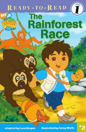 The Rainforest Race (Turtleback School & Library Binding Edition) (Ready-To-Read Go Diego Go - Level 1) pdf