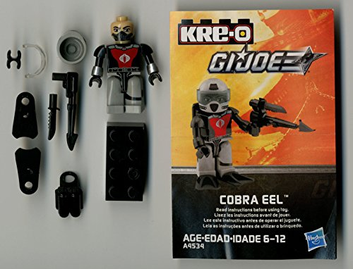 G I Joe A Real American Hero Kre-O Cobra Eel Figure Complete Series 2 - Cobra Eel