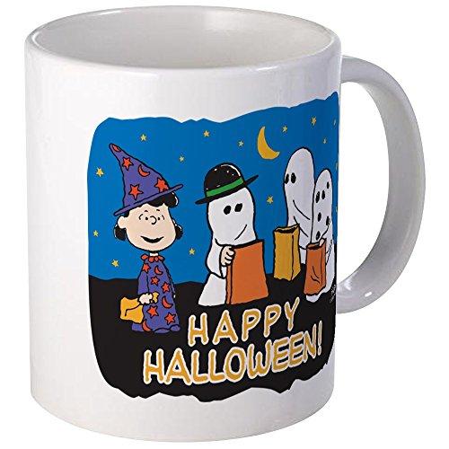 CafePress The Peanuts Gang Happy Halloween Mugs Unique Coffee Mug, Coffee Cup]()
