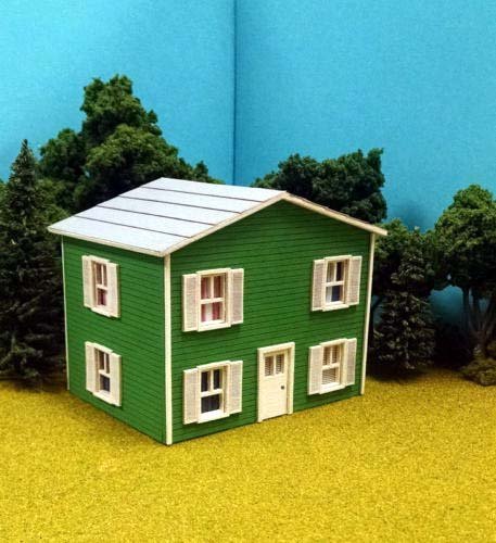 - Train Time Laser HO Scale Laser Cut Oscar's House Kit