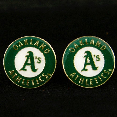 MLB Oakland Athletics Team Logo Post -