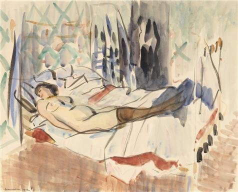 Oil Painting 'Rik Wouters - Resting Woman, 20th Century', 24 x 30 inch / 61 x 76 cm , on High Definition HD canvas prints is for Gifts And Gym, - Center Oaks Fair Women's