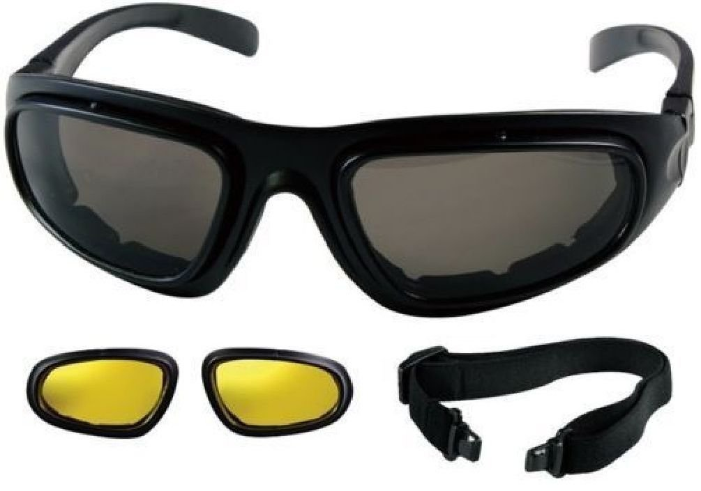 Black Interchangeable Sunglasses To Goggles Tactical Optical System