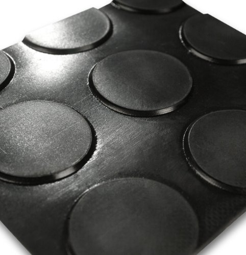 Flachnoppen Gummiläufer - Stärke  3mm 3mm 3mm - 30 Größen wählbar - 100x600cm B0079490DI Gummi 211211