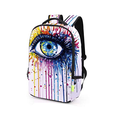 Kanpola School Multicolour2 Men Backpack Travel Rucksack Satchel 3D Women Shoulder Galaxy Bag Bookbag Multicolour rvWBOq6rw