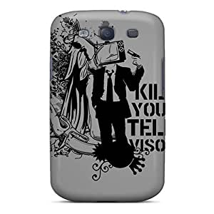 linJUN FENGShock-dirt Proof Kill Your Television Case Cover For Galaxy S3