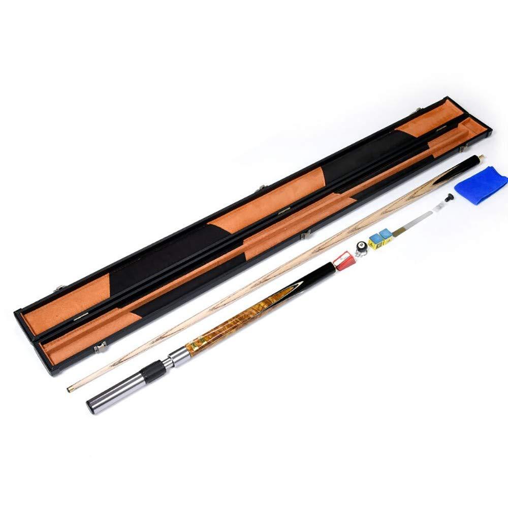 Profi Snooker Pool Cue Sticks 19 oz Billard Queue Eschenholz 145 cm Pool Cue Stick Very Nice Grip ZXZXZX Billard Queues Spitzen10 mm Mit Zubeh/ör Verl/ängerung Tasche