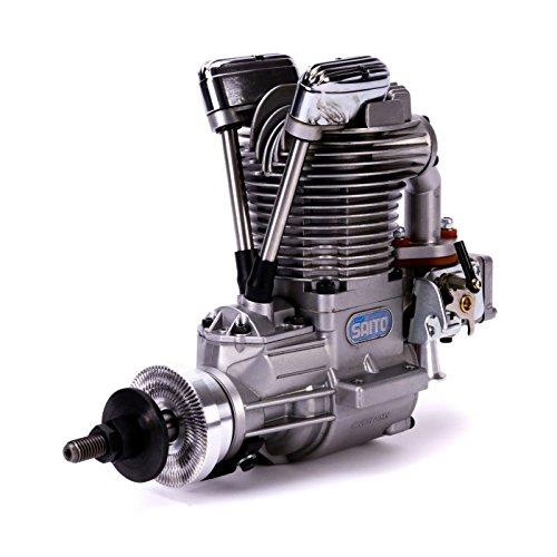 Saito Engines FG-40 Gas Single Cylinder Engine: BQ