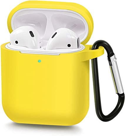 Amazon Com Airsha Compatible For Airpods Case With Keychain