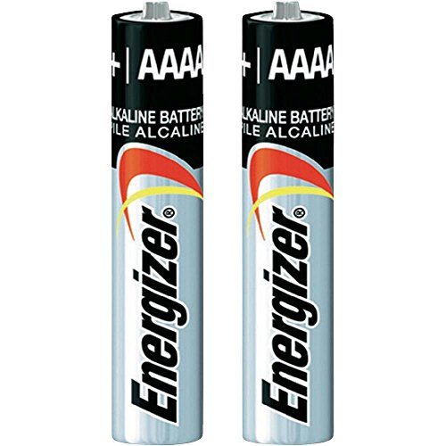 Pack of 10 Energizer E96 AAAA Alkaline Battery - Bulk Pack - with FREE Clear Battery Storage Holder Case