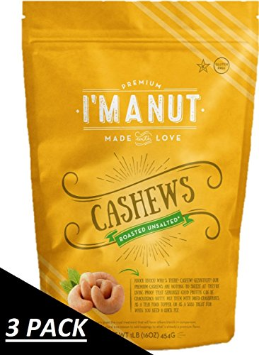 unsalted roasted cashews - 7