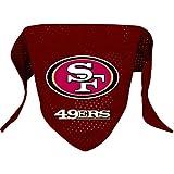 Hunter MFG San Francisco 49ers Mesh Dog Bandana, Large