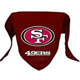 Hunter MFG San Francisco 49ers Mesh Dog Bandana, Small