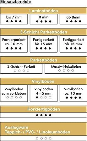 15 m/² Akustik Tritt- und Gehschalld/ämmung f/ür Parkett- u Sie kau uficell Multisound Akustik Trittschalld/ämmung f/ür Parkett- und Laminatb/öden Trittschallverbesserung ca Laminatb/öden St/ärke 2 und 3 mm 21 dB