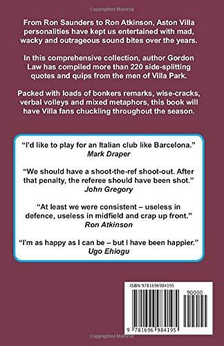 The Funniest Villa Quotes... Ever!: Amazon.es: Law, Gordon ...