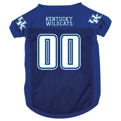 NCAA Kentucky Wildcats Pet Jersey,  Medium