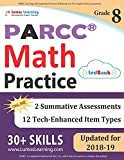 PARCC Test Prep: 8th Grade Math Practice Workbook and Full-length Online Assessments: PARCC Study Guide