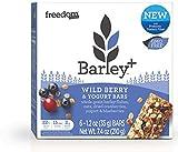 Barley+ Cereal Bars (Wild Berry & Yogurt, 1 Box)
