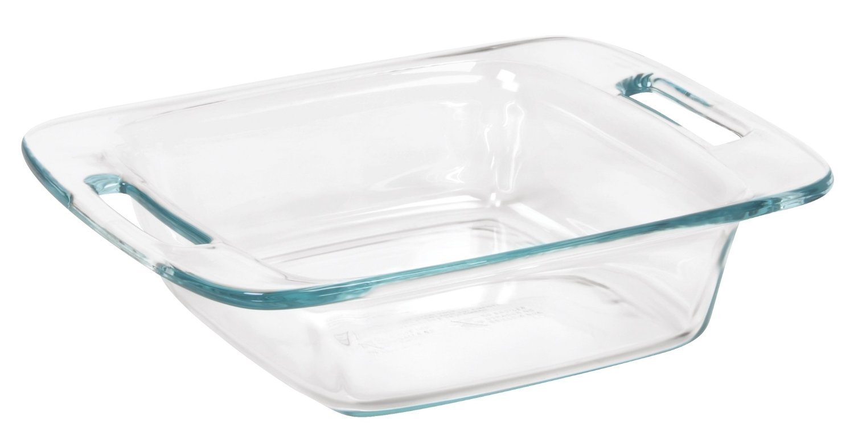 Pyrex Easy Grab 8'' Glass Bakeware Dish