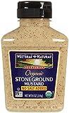 Westbrae Organic Stoneground Mustard No Salt Added-8 oz