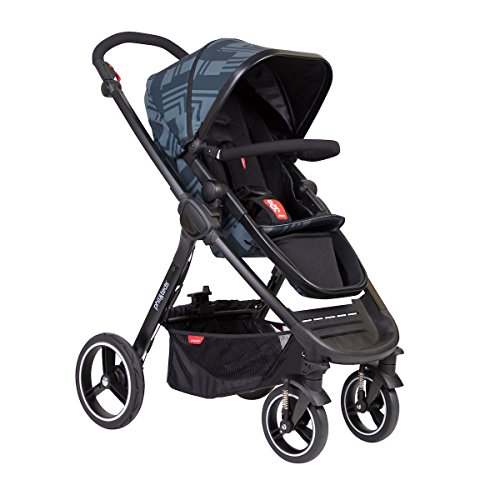phil&teds MOD stroller, Noir (Best Phil And Teds Double Stroller)