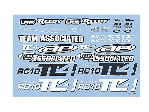 - Team Associated 31071 TC4 Decal Sheet