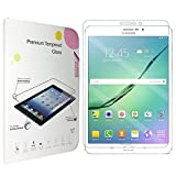 Yeworth® for Samsung Galaxy Tab S2 9.7 Tempered Glass screen protector 0.3mm Ultra Thin 9H Hardness 2.5D Round Edge with Lifetime Replacement Warranty (Galaxy Tab S2 9.7)