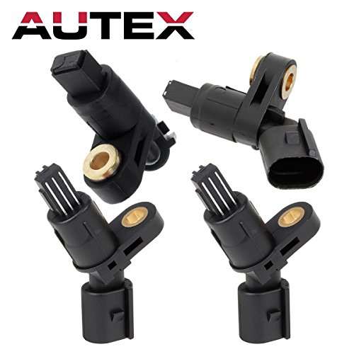 Differential Volkswagen Golf - AUTEX 4PCS ABS Wheel Speed Sensor Front & Rear ALS465 ALS470 ALS522 For 2000 2001 2002 2003 2004 2005 2006 Audi TT 1998 1999 2000 2001 2002 2003 2004 2005 2006 2007 2008 2009 2010 Volkswagen Beetle