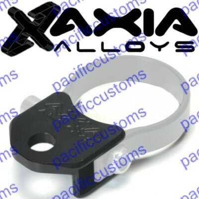 Axia Alloys Black Whip Antenna Mount 1/2 Inch Hole For Vertical Tube Dune Buggy Sand Rail