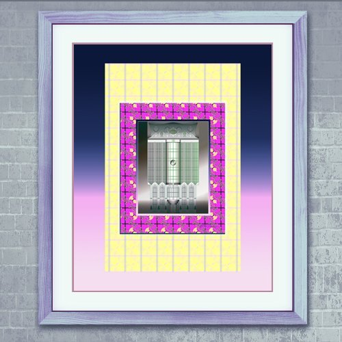 enigmatic-intriguing-digital-home-decor-art-high-quality-print-gloss-paper-yellow-blue-pink-rectangu