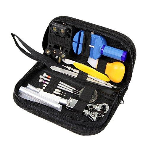 Watch Repair Tool Kit Set, Antimagnetic Screwdriver, Portable Tool Kit, Perfect Kit Watchmaker