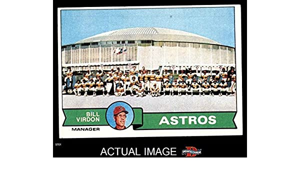 Amazoncom 1979 Topps 381 Astros Team Checklist Bill