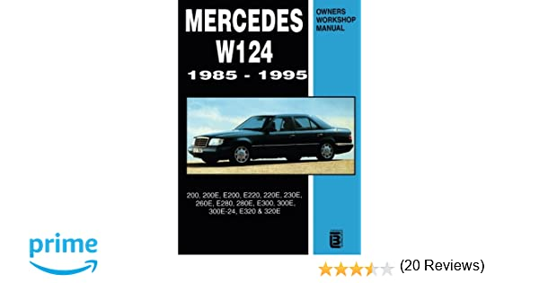 Mercedes W124 Owner's Workshop Manual 19851995 Rm Clarke: Mercedes W124 Wiring Diagram Free Download At Imakadima.org